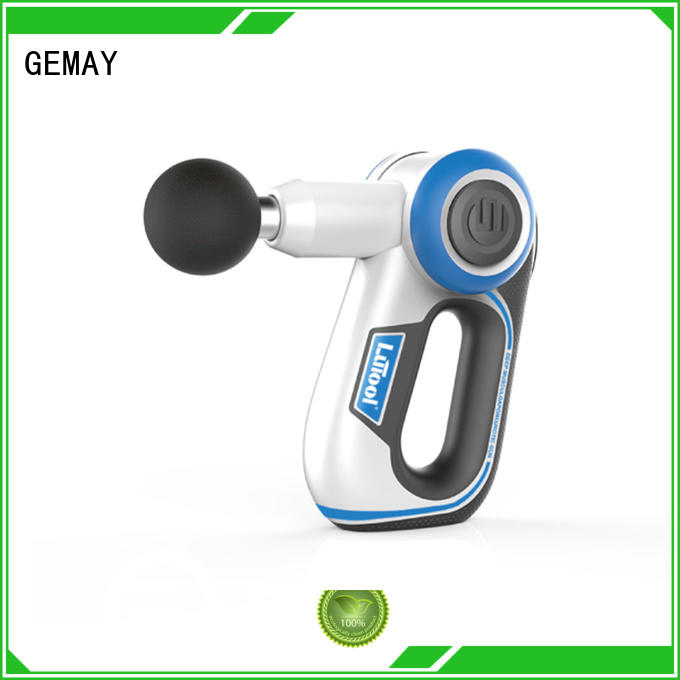GEMAY sensitive handheld muscle massager manufacturer for DIY amateurs