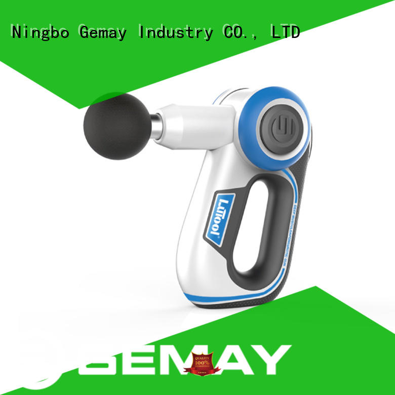 GEMAY top-ranked handheld muscle massager wholesale for DIY amateurs