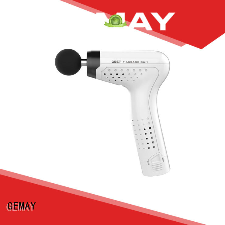 GEMAY scientifically-calibrated hand held muscle massager wholesale for professional amateur