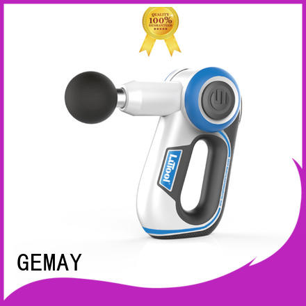 GEMAY top-ranked personal muscle massager easy to carry for professional amateur