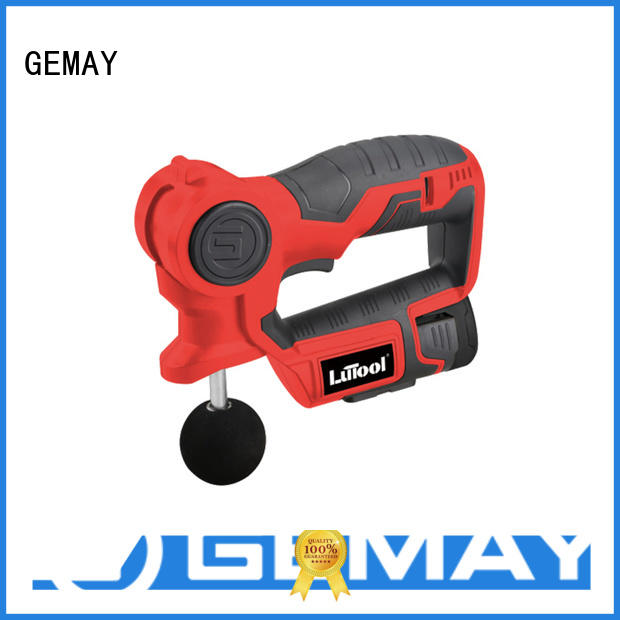 GEMAY customized hand held muscle massager series for professional amateur