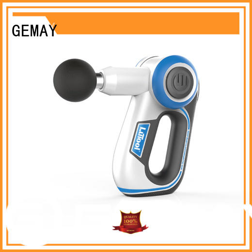 GEMAY customized portable muscle massager manufacturer for muscle man