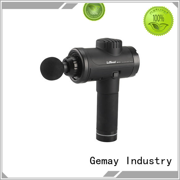 GEMAY top-ranked portable muscle massager easy to carry for DIY amateurs