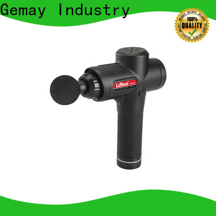GEMAY handheld thumper body massager supplier for DIY amateurs