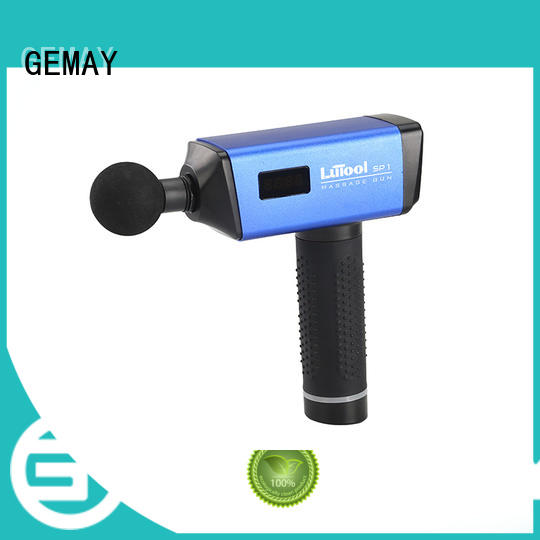 GEMAY customized best muscle massager easy to carry for DIY amateurs