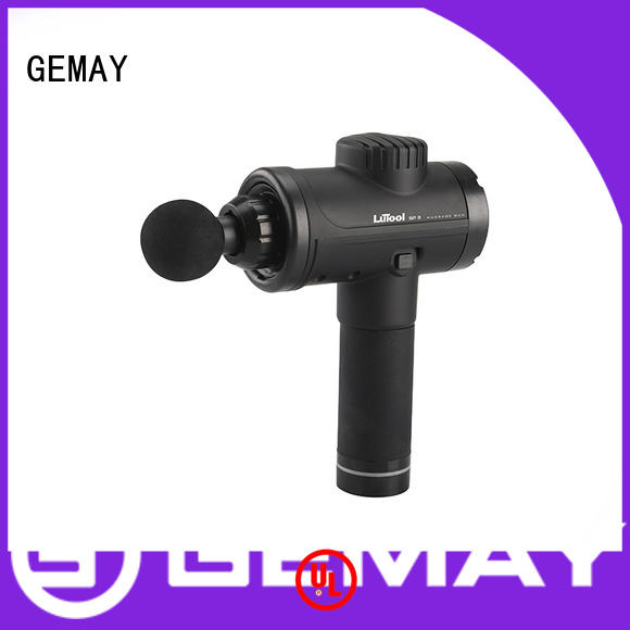 GEMAY mini hand held muscle massager for men