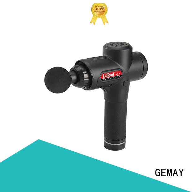 GEMAY brushless hand held muscle massager series for DIY amateurs