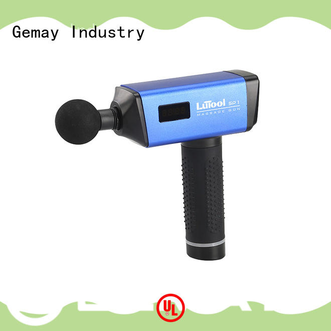 GEMAY muscle homedics quad back massager easy to carry for DIY amateurs