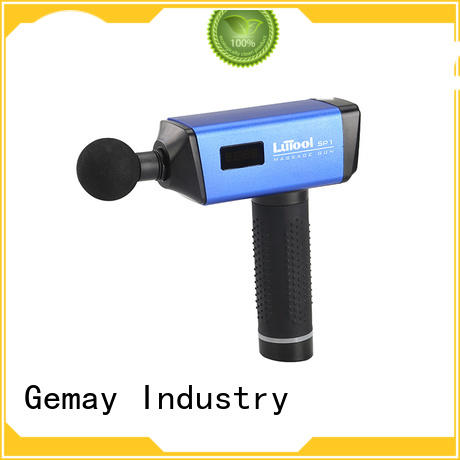 GEMAY customized deep muscle massage machine brushless for professional amateur