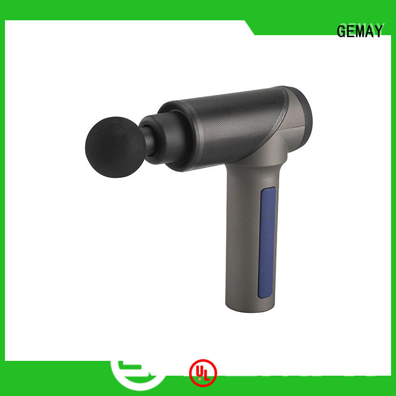 GEMAY brushless home medic percussion massager supplier for muscle man
