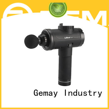 GEMAY mini portable muscle massager supplier for muscle man