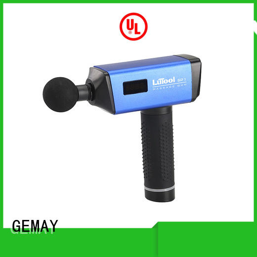 GEMAY scientifically-calibrated best muscle massager supplier for women