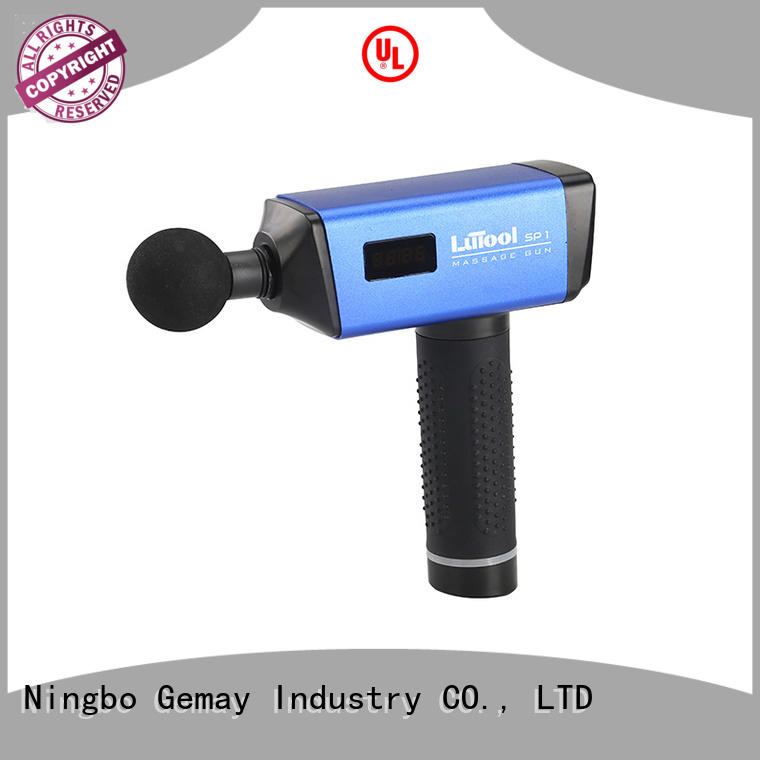 portable muscle massager machine for muscle man GEMAY