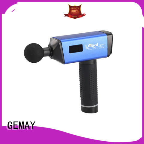 GEMAY scientifically-calibrated hand held muscle massager manufacturer for DIY amateurs