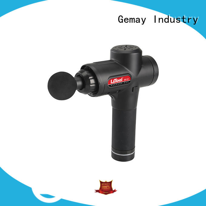 GEMAY customized portable muscle massager supplier for professional amateur