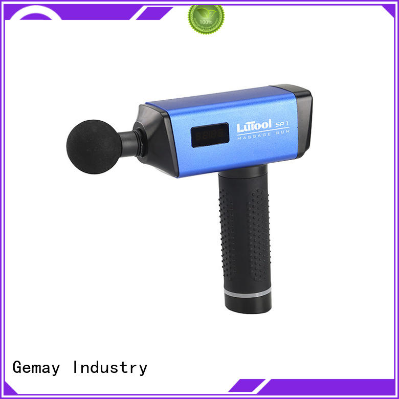 GEMAY brushless handheld muscle massager for DIY amateurs