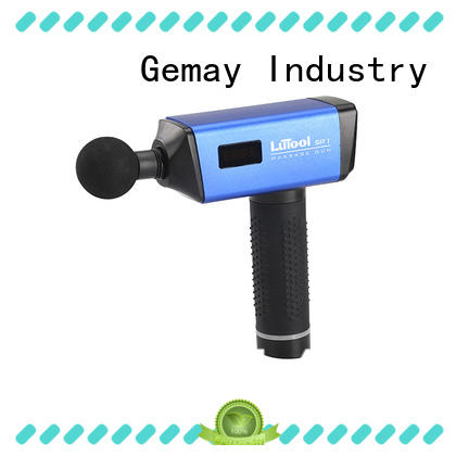 GEMAY scientifically-calibrated portable muscle massager manufacturer for men